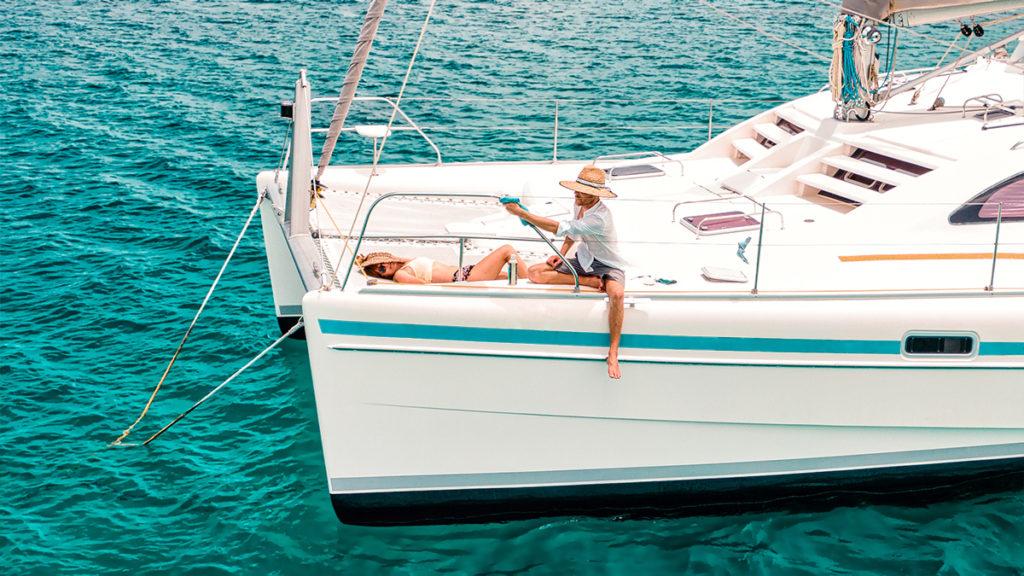 jason and nikki wynn boat life routine