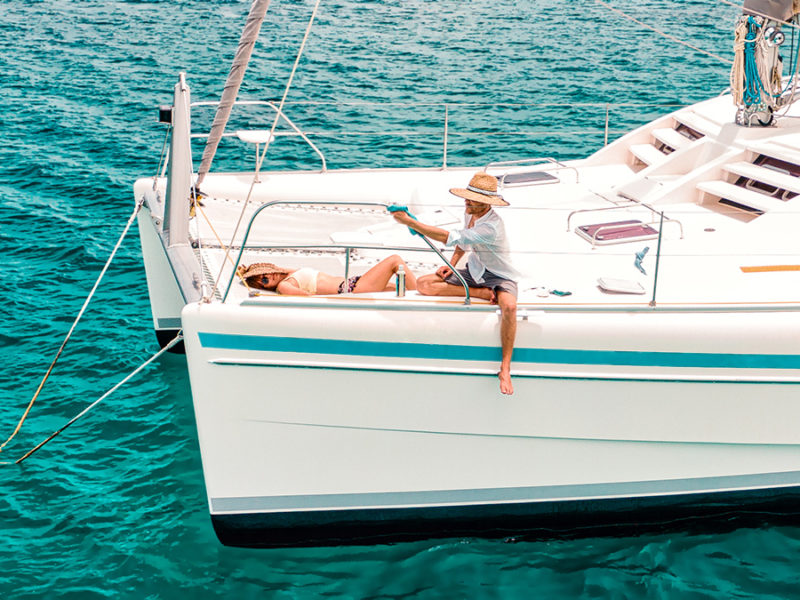 jason and nikki wynn boat life routine