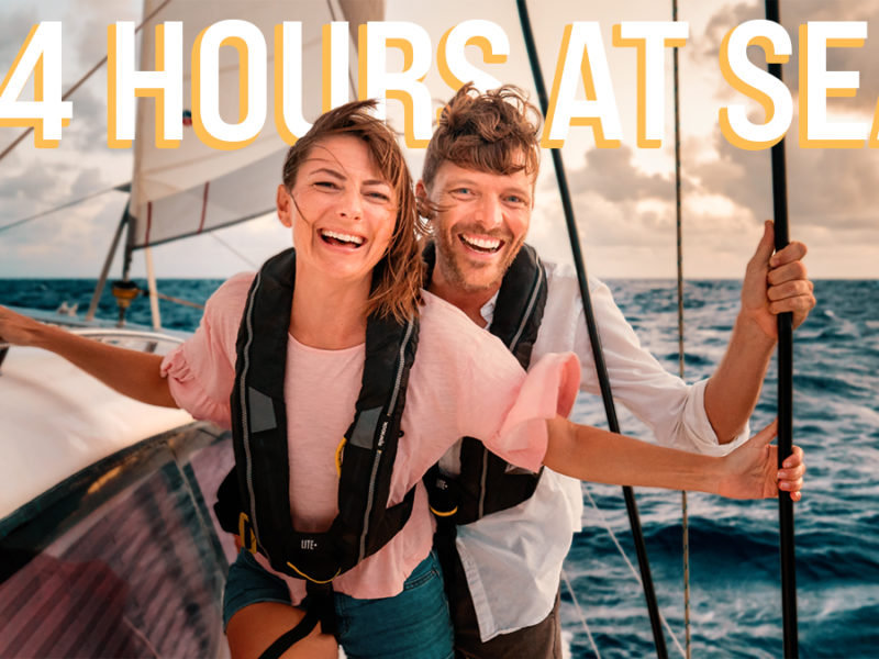 24 hours at sea with jason and nikki wynn on board s/v curiosity