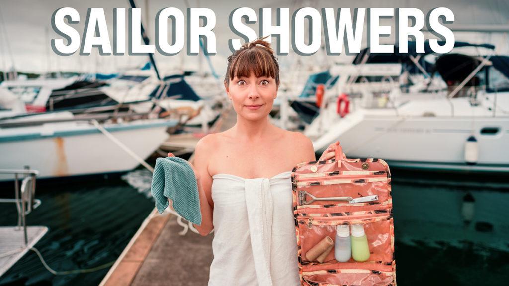 nikki wynn ready for a sailor shower at the marina